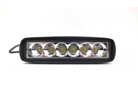 Фара светодиодная P003 18W Spot 6 диодов по 3W оптовая продажа
