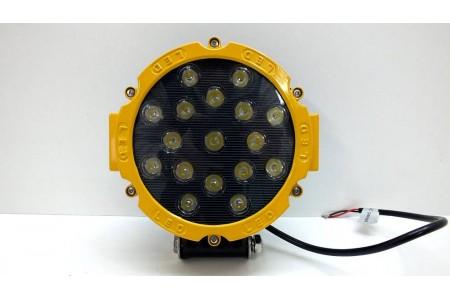 Фара светодиодная CH013Y 51W 17 диодов по 3W оптовая продажа