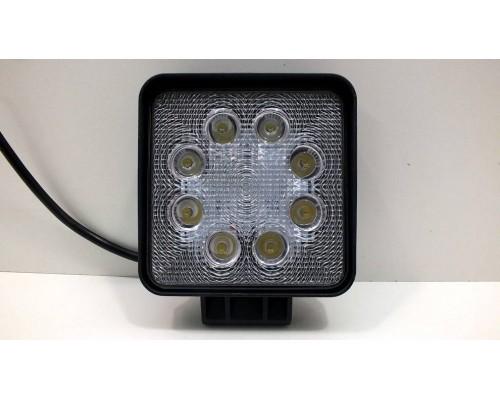 Фара светодиодная CH006 24W 8 диодов по 3Вт, дальний свет