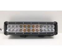 Фара светодиодная CH019B 72W 3000K COMBO 24 диода по 3W