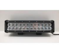 Фара светодиодная CH019B 72W Cree FLOOD 24 диода по 3W, ближний свет