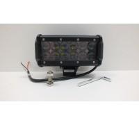 Фара светодиодная CH019B 36W 4D 12 диодов по 3W выпуклая линза