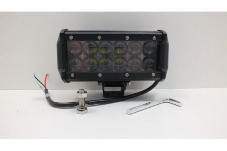 Фара светодиодная CH019B 36W 4D 12 диодов по 3W выпуклая линза оптовая продажа