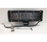 Фара светодиодная CH019B 54W 4D 18 диодов по 3W выпуклая линза