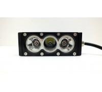 Фара светодиодная CH052 30W WTH 3 диода по 10W