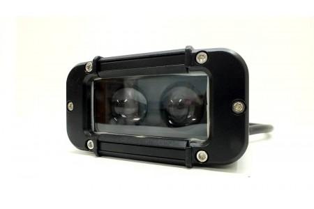 Фара светодиодная CH053 20W 5D 2 диода по 10W оптовая продажа