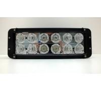 Фара светодиодная CH054 120W 12 диодов по 10W