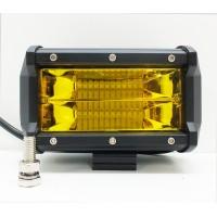 Фара светодиодная противотуманная LBS865 72W (ближний свет) желтый
