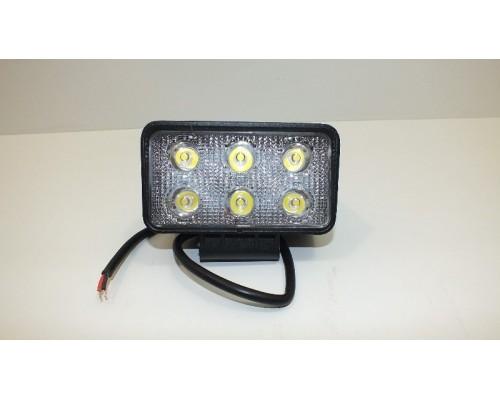 Фара дополнительного освещения X006 18W (6 сверхярких диодов, одного 3Ватт )