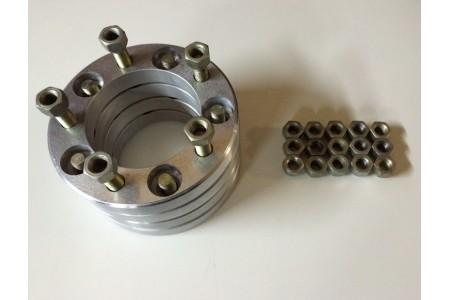Расширитель колеи дюралевые (Проставки) УАЗ (5*139,7) 30 мм оптовая продажа