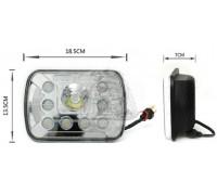 Фара светодиодная P033 40W (габаритные размеры 185*135*70мм) P033(112)