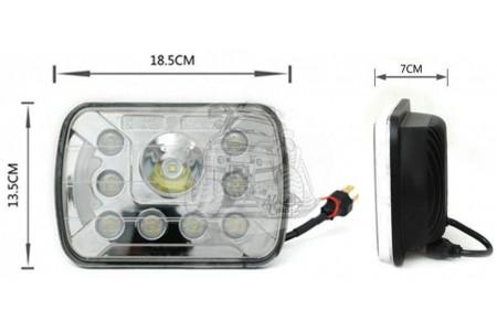 Фара светодиодная P033 40W (габаритные размеры 185*135*70мм) P033(112) оптовая продажа