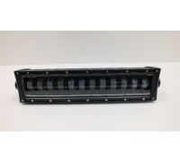 Фара светодиодная CH1980 96W 12 диодов по 8W (габаритные размеры 115*90*420мм; цветовая температура 6000K; 60° ближний свет, 30° дальний свет) CH1980 96W