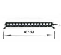 Фара светодиодная CH1980 240W 30 диодов по 8W (габаритные размеры 115*90*885мм; цветовая температура 6000K; 60° ближний свет, 30° дальний свет) CH1980 240W