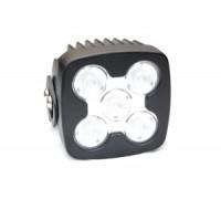 Фара светодиодная P024 50W 5 диодов по 10W (габаритные размеры 120*140*90мм; цветовая температура 6000K; 60° ближний свет, 30° дальний свет) P024 50W