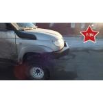 """Кит-набор для самостоятельной сварки и окраски """"Бампер """"Т-34"""" передний усиленный на УАЗ Патриот, сталь 3, 4, 6 мм оптовая продажа"""