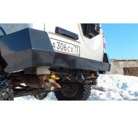 """Бампер """"Т-34"""" задний усиленный на УАЗ Патриот оптовая продажа"""