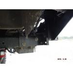 """Кит-набор для самостоятельной сварки и окраски бампер """"Т-34-1"""" передний усиленный без кенгурина на УАЗ Патриот, сталь 3, 4, 6 мм оптовая продажа"""