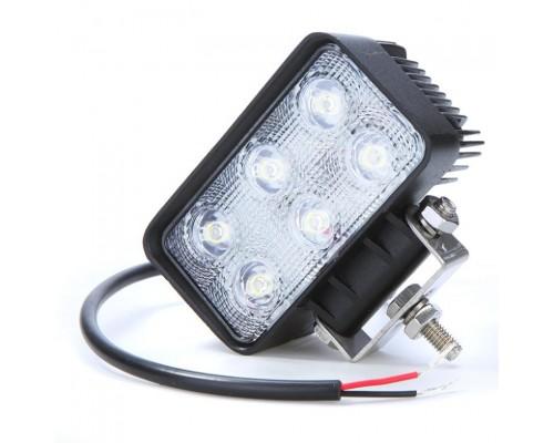 Фара дополнительного освещения LED 18W (6 сверхярких диодов, одного 3Ватт )