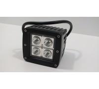 Фара светодиодная 16W 4 диода по 4W CH027 16W