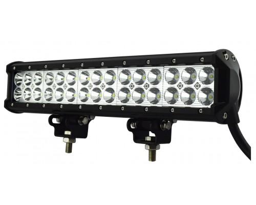 Фара светодиодная 126W 42 диода по 3Вт, комбинированный свет.