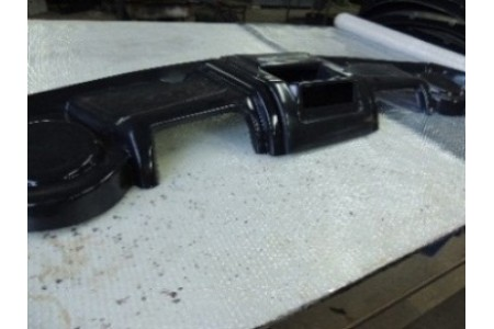 Полка верхняя под магнитолу УАЗ-452 АБС оптовая продажа