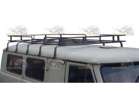 Багажник на УАЗ 452 КОЛУМБ (10 опор) оптовая продажа