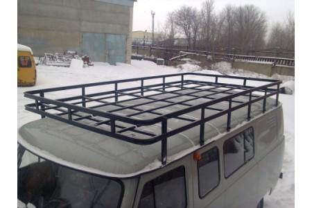 """Багажник на УАЗ 452 """"Экспедиционный"""" (12 опор)  оптовая продажа"""