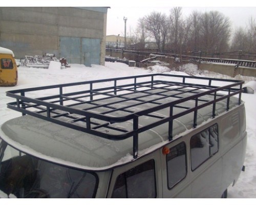 """Багажник на УАЗ 452 """"Экспедиционный"""" (12 опор)"""