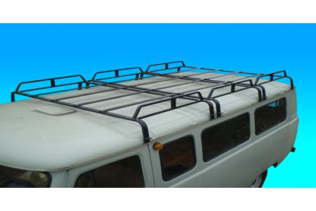 Багажник на УАЗ 452 трехсекционный (12опор) оптовая продажа