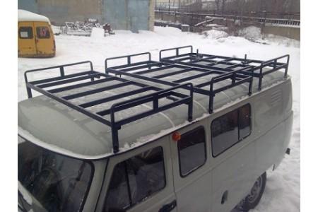 "Багажник на УАЗ 452 ""Круиз"" 3 секции оптовая продажа"