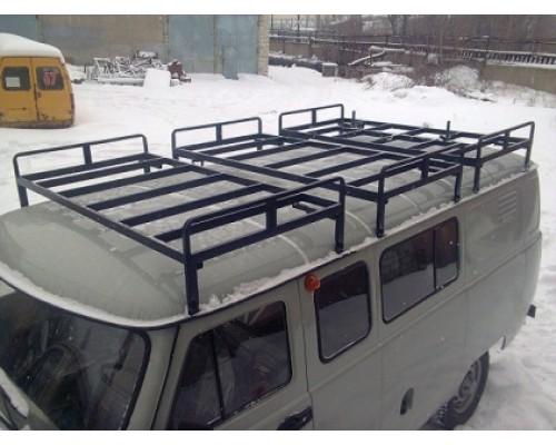 "Багажник на УАЗ 452 ""Круиз"" 3 секции"