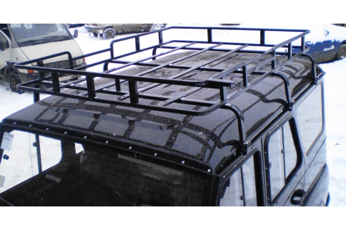 Багажник для уаз 469 своими руками 882