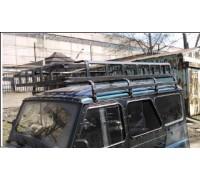 """Багажник на УАЗ Хантер """"Сахалин 2"""" усиленный (8 опор), 2.2м"""