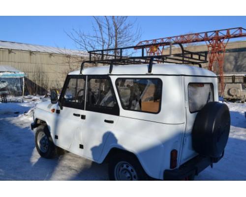 """Багажник на УАЗ Хантер """"Турист"""" 1.85м (6 опор)"""