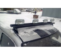 Люстра-кронштейн крепления галогенок на УАЗ Патриот