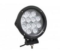 Фара светодиодная CH021 60W 12 диодов по 5W (габаритные размеры 180*218*90мм; цветовая температура 6000K; дальний свет) черная CH021 60W black