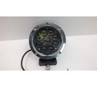 Фара светодиодная CH022 45W 9 диодов по 5W (габаритные размеры 140*178*90мм; цветовая температура 6000K; дальний свет) CH022 45W chrom