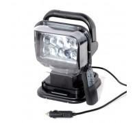 Фароискатель CH001 50W LED 10 диодов по 5W с дистанционным управлением Черный CH001 50W LED BLACK