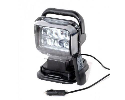 Фароискатель CH001 50W LED 10 диодов по 5W с дистанционным управлением Черный