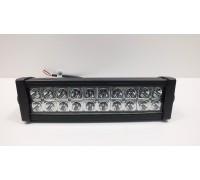 Фара светодиодная CH008 60W 20 диодов по 3W (габаритные размеры 83*82*115*365мм; цветовая температура 6000K; дальний свет) 2 контакта, боковое крепление, потребляемый ток 12/24V CH008 60W SPOT оптовая продажа