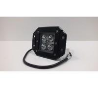 Фара светодиодная CH039 20W 4 диода по 5W врезная