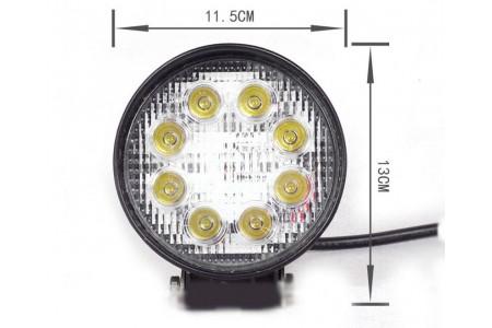 Фара светодиодная CH007 24W 8 диодов по 3W оптовая продажа