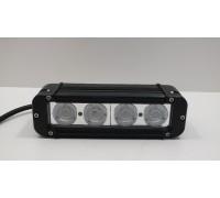 Фара светодиодная CH053 40W 4 диода по 10W (габаритные размеры 64*93*200мм; цветовая температура 6000K; свет комбинированный) CH053 40W