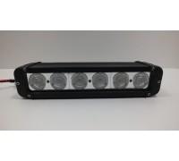 Фара светодиодная CH053 60W 6 диодов по 10W (габаритные размеры 64*93*280мм; цветовая температура 6000K; свет комбинированный) CH053 60W