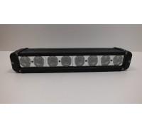 Фара светодиодная CH053 80W 8 диодов по 10W (габаритные размеры 64*93*360мм; цветовая температура 6000K; свет комбинированный) CH053 80W оптовая продажа