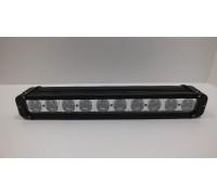 Фара светодиодная CH053 100W 10 диодов по 10W (габаритные размеры 64*93*438мм; цветовая температура 6000K; свет комбинированный) CH053 100W