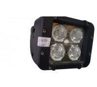 Фара светодиодная CH054 40W 4 диода по 10W (габаритные размеры 91*95*120мм; цветовая температура 6000K; свет комбинированный) CH054 40W
