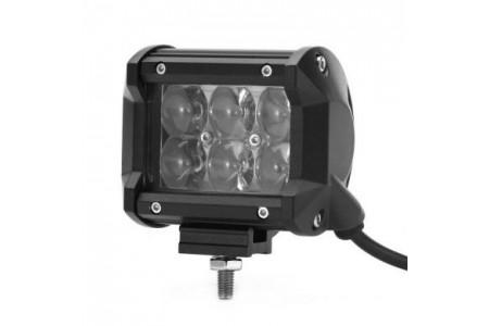 Фара светодиодная CH019В 18W 4D 6 диодов по 3W оптовая продажа