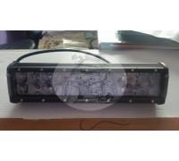 Фара светодиодная CH019B 72W 4D 24 диода по 3W (выпуклая линза) (габаритные размеры 65*80*300мм; цветовая температура 6000K; сверх-дальний свет) CH019B 72W 4D